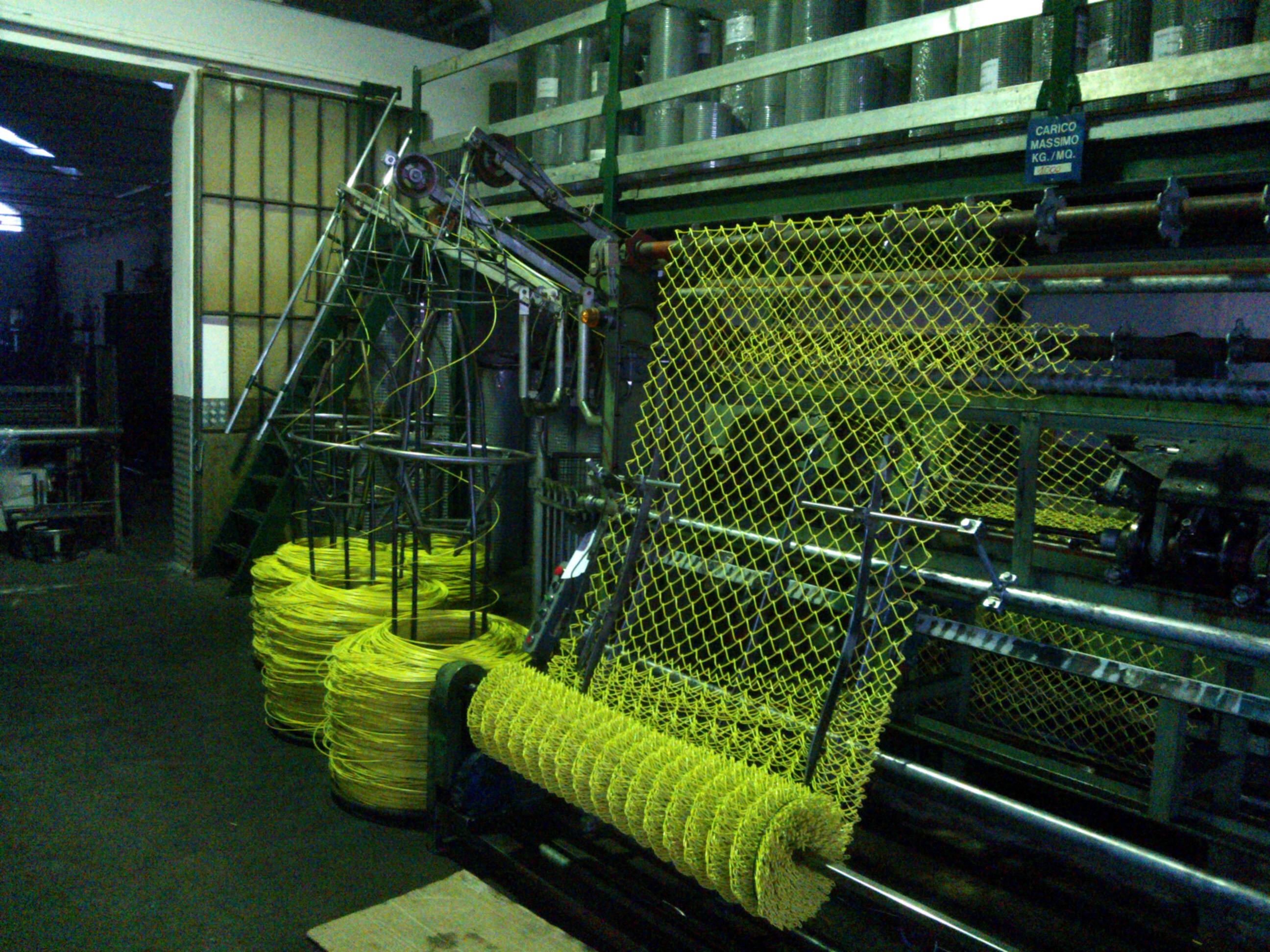 Edilreti s r l reti da recinzione cancellate lamiere for Rete stirata prezzo