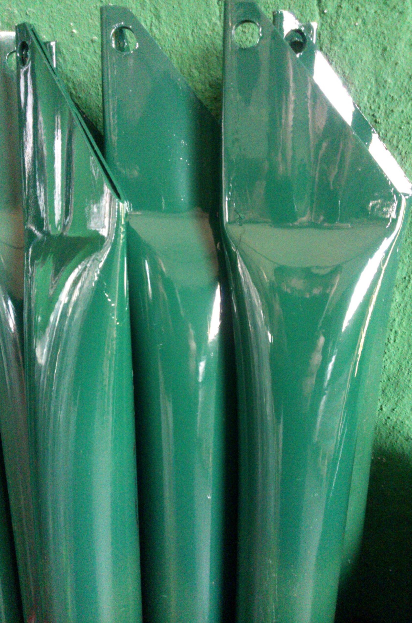 SAETTE TUBOLARI PLASTIFICATE